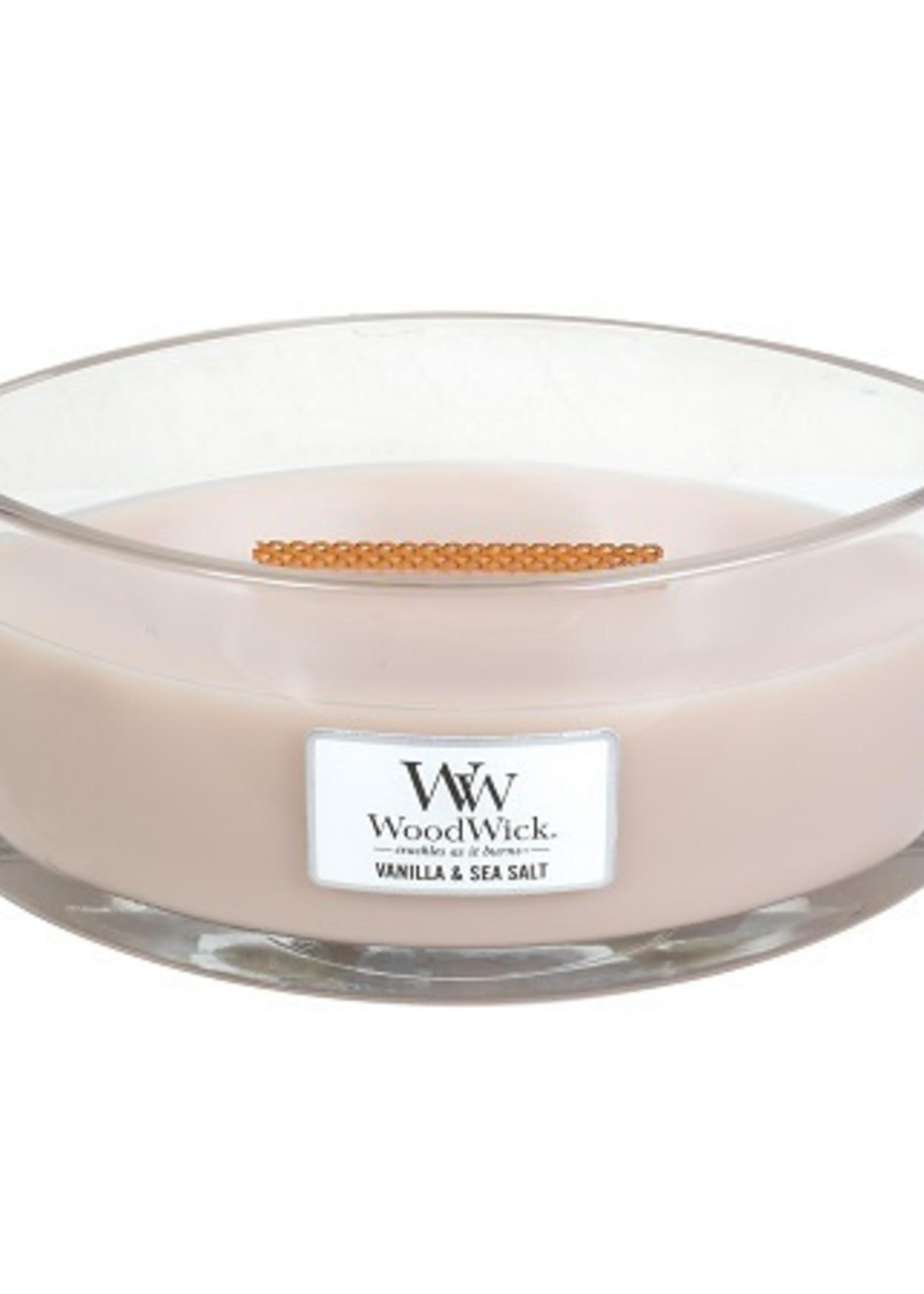 Vanilla & Sea Salt Ellipse Candle