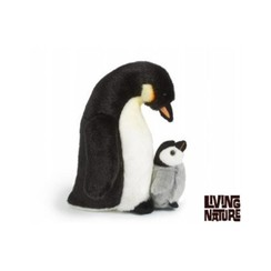 Pinguin Knuffel, met kuiken