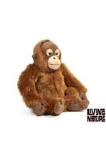 Living Nature Knuffel Aap Orang Oetan, Living Nature