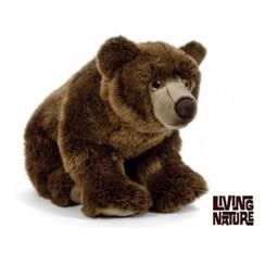 Bruine beer knuffel groot