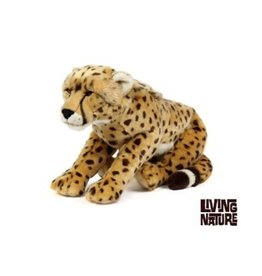 Living Nature Knuffel Cheetah groot