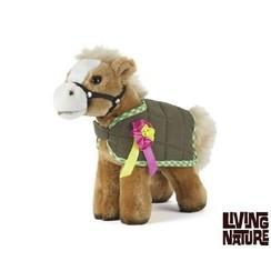 Knuffel Paard met dekje