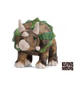 Living Nature Knuffel Dinosaurus Triceratops