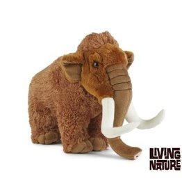 Living Nature Mammoet Knuffel XL