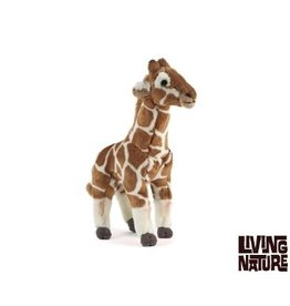 Living Nature Knuffel Giraffe Middel