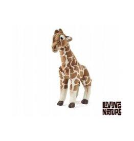 Living Nature Pluche Giraffe Groot