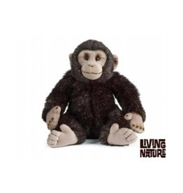 Living Nature Knuffel Chimpansee