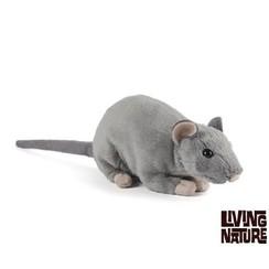 Knuffel Rat met geluid