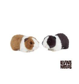 Living Nature Knuffel Cavia met geluid, 2 stuks
