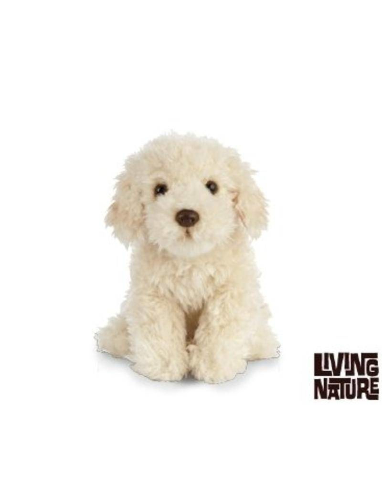 Living Nature Labradoodle knuffel, Living Nature