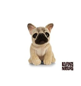 Living Nature Franse Bulldog zittend