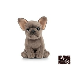 Pluche Bulldog, 15 cm