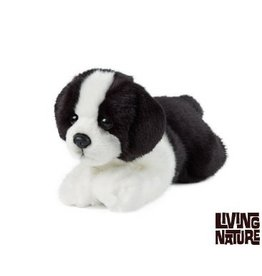 Living Nature Knuffel Border  Collie liggend
