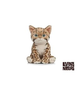 Living Nature Knuffel Kat Bengaals