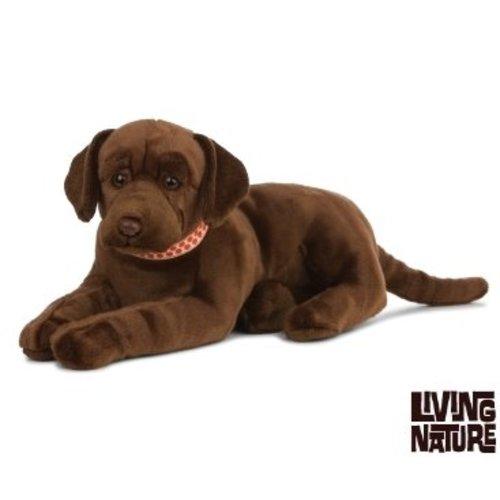 Living Nature Knuffel Labrador Bruin , 60 cm, Living Nature