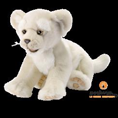 Witte Leeuw Knuffel, 32 cm