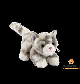 Anima Spelende Pluche Kat Grijs, 20 cm