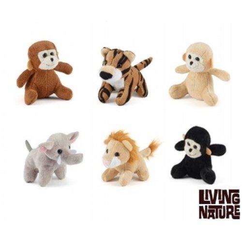 Living Nature Jungle Mini Knuffels, Living Nature