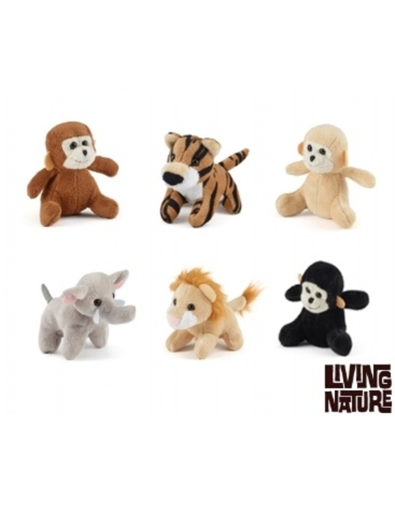 Welp Jungle Mini Knuffels, Living Nature - Living-Animals.com XO-74