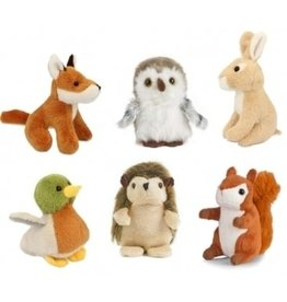 Living Nature Bosdieren mini knuffels