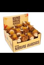 Living Nature Mini Higlander Knuffel, Living Nature, 12 stuks