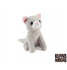 Living Nature Mini Knuffeltjes Kat, 24 stuks