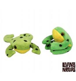 Living Nature Mini Knuffeltjes Kikker 24 stuks