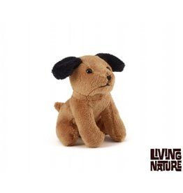 Living Nature Mini Knuffeltjes Puppy hondjes