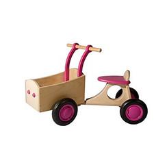 Kinderbakfiets Roze, van Dijk Toys