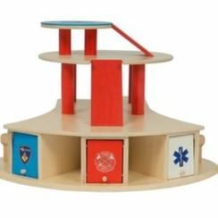 Speelgoedgarage hulpdiensten, van Dijk Toys