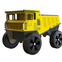 Bam Bam Houten Vrachtwagen