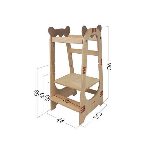 Mamatoyz Meegroei trapje Learning Tower Tijger, Mamatoyz