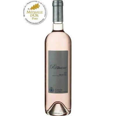 Chateau Les Mesclances Rosé Cuvée Romane Côtes de Provence AOP 2017