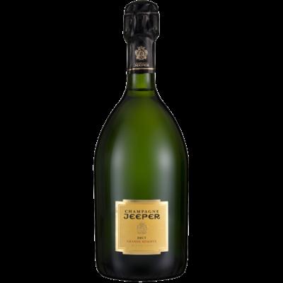 Jeeper Cuvée Grand Reserve Blanc de Blancs Champagne