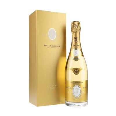 Louis Roederer Champagne Cristal Brut 2002 Late Release