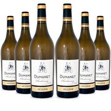 Dumanet Chardonnay Reserve 2019 Hamsterpakket 11+1
