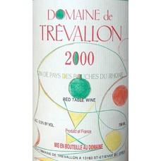 Domaine de Trévallon Alpilles Rouge 2000
