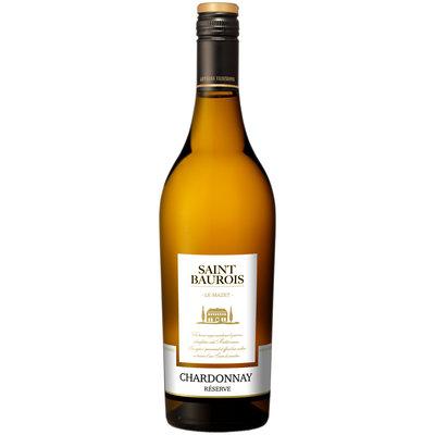 Les Vignerons du Narbonnais Saint Baurois Chardonnay Réserve IGP 2020