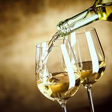 Licht soepele witte wijn