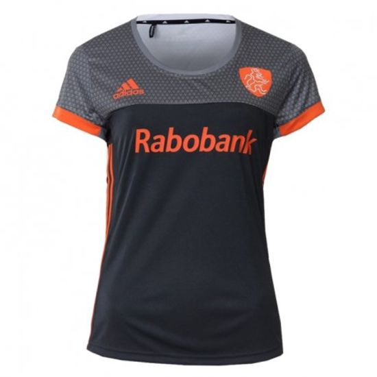 732d94c3bd0 adidas KNHB Grijs/Oranje Uit Shirt Dames | HockeyCity.nl