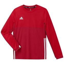 adidas T16 Climacool Longsleeve Tee Boys rood/scarlet