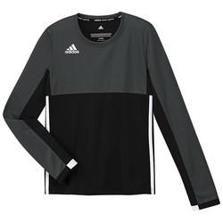 adidas T16 Climacool Longsleeve Tee Girls zwart/grijs
