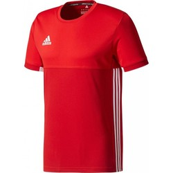 adidas T16 Climacool Shortsleeve T-shirt Heren rood/scarlet