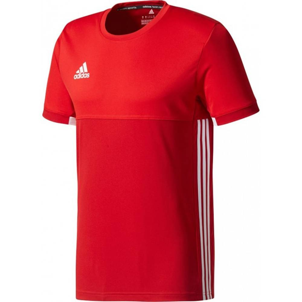 adidas T16 Climacool Shortsleeve T-shirt Heren rood/scarlet
