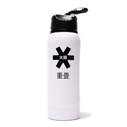 Kuro Aluminium Waterbottle 2.0  White /Black