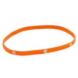 Haar Elastiek 10mm oranje