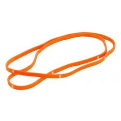 Brabo Haar Elastiek 5mm (2ST.)  oranje