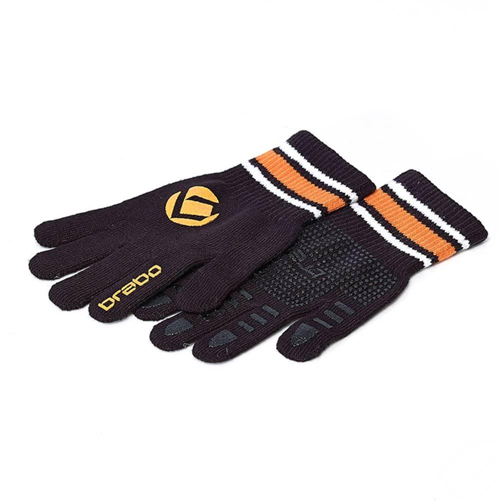 Brabo Wintergloves Black/Orange