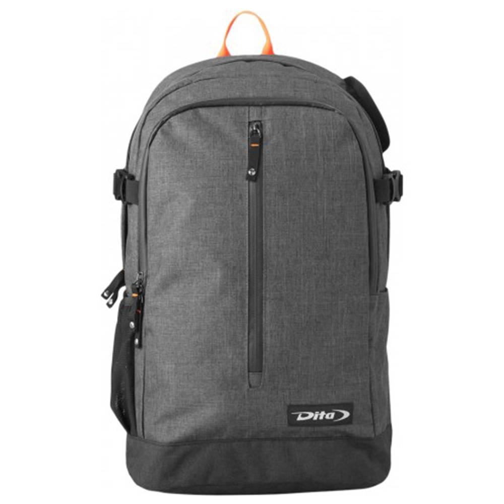 Dita Backpack Icon '18 Fluo Rood/Donker Grijs