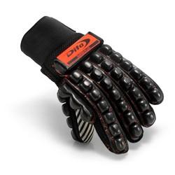 Glove Super Plus '17 Black Fluo Rood/Zwart